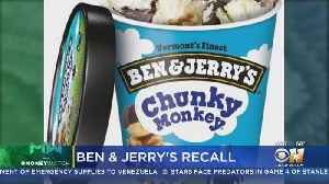 Ben & Jerry's Recalls Some Chunky Monkey And Coconut Seven Layer Bar Flavors [Video]