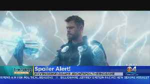Trending: Avengers: End Game Leaked Footage [Video]