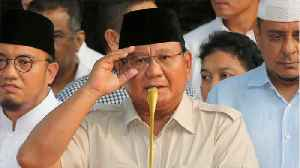 News video: Indonesia's Prabowo Claims Internal Polls Indicate An Election Win