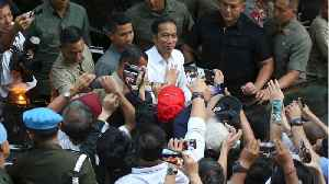 Indonesia's President Winning Election [Video]