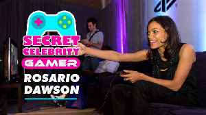 Rosario Dawson is huge in the gaming world [Video]