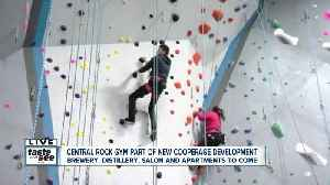 Climbing into something new at Central Rock! [Video]