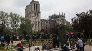 News video: France Opens The Question: Should Notre-Dame Be Rebuilt As It Was?