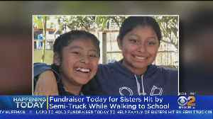 LAPD Newton Station Hosts Fundraiser For Sister Struck By Big Rig [Video]