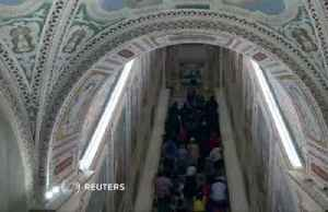 Rome's 'Holy Stairs' bared for first time in 300 years [Video]