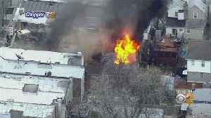 Firefighters Hurt Battling Massive Blaze In Brooklyn [Video]