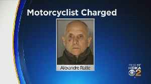 Motorcyclist Charged, Accused Of Nearly Running Down State Trooper [Video]