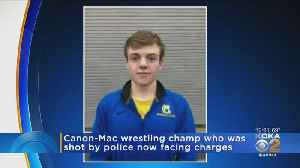 Former High School Wrestling Champ Charged After Domestic Violence Incident [Video]