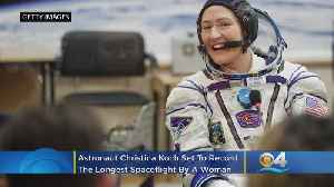 US Astronaut To Set Record For Longest Spaceflight By A Woman [Video]