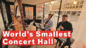 Inside The World's Smallest Concert Hall [Video]