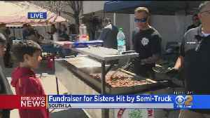 LAPD's Newton Division Station Hosts Fundraiser For Sister Hit By Semi [Video]