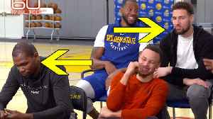 Kevin Durant & Klay Thompson's Reaction To '60 Minute' Question PROVES They Are LEAVING Warriors! [Video]