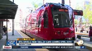 MTS unveils brand new trolley cars expected to be in service this weekend [Video]