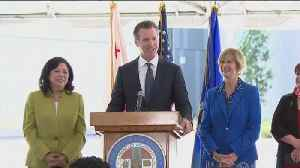 Gov. Newsom Announces Private Sectors Can Join State's Single Payer Healthcare System [Video]