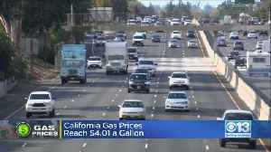 News video: Average Gas Price Of Regular Gas Hits 5-Year High
