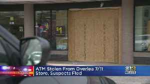 ATM Stolen From Overlea 7/11 Store, Suspects Wanted [Video]