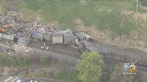 Neighbors Complaining About Smell After Train Derailment Spreads Trash Everywhere In Berks County [Video]