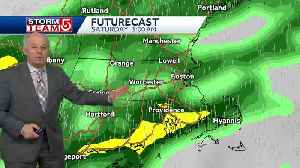 Video: Weekend will start with heavy rain, downpours [Video]