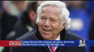 Judge Blocks Release Of Video Showing Robert Kraft Inside Florida Day Spa [Video]