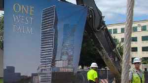 Groundbreaking for tallest project in Palm Beach Co. history [Video]