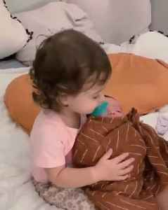 Toddler Hugs Newborn Sister for the First Time [Video]