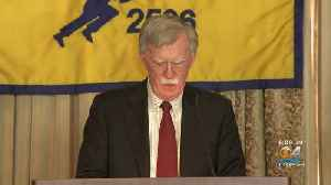 John Bolton In Miami Announces New Crackdown On Cuba, Nicaragua and Venezuela [Video]