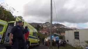 Bus crash kills 28, mostly Germans, on Madeira [Video]