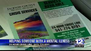 Helping a loved one before they undergo a mental health crisis [Video]