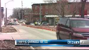 Highway 122 reconstruction project, lane changes [Video]