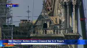 Notre Dame to be Closed for 5-6 Years