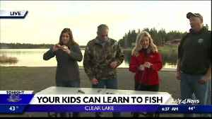 Kids fishing day at Clear Lake [Video]
