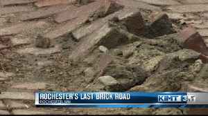 Historic road paved in brick in Rochester could soon be paved over [Video]