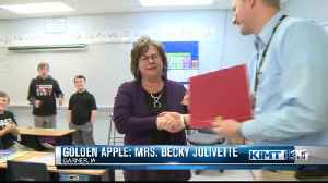 Golden Apple: Mrs. Becky Jolivette [Video]