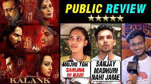 Kalank Movie HONEST Public REVIEW ⭐ ⭐ ⭐ | Alia, Varun, Sanjay, Madhuri, Sonakshi, Aditya [Video]
