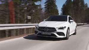 Mercedes-Benz CLA 220 d Coupé Driving in the country [Video]