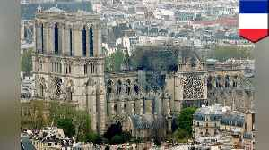 News video: France's Notre Dame Cathedral to be rebuilt in the coming years