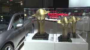 Jaguar's World Car of the Year Trophies 2019 [Video]