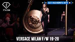 Gigi Hadid, Bella Hadid, and Kaia Gerber Versace Milan F/W 19-20 | FashionTV | FTV [Video]