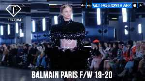 Balmain Paris Fashion Week F/W 19-20 | FashionTV | FTV [Video]