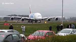 'Worlds largest passenger plane' lands in Glasgow [Video]