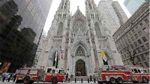 News video: Man With Gasoline And Lighters Arrested At NYC Cathedral