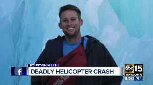 Second victim named in Arizona helicopter crash [Video]