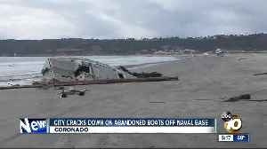 San Diego cracks down on abandoned boats off naval base [Video]