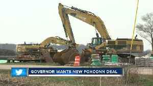 Mt. Pleasant residents give mixed reviews on Evers' call to renegotiate Foxconn deal [Video]