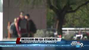 UA students who confronted Border Patrol agents on campus could get charges dropped [Video]