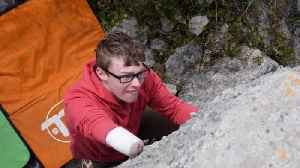 Mountains Of Opportunity! Teenager Who Is Uk's Top One-armed Rock Climber Won't Let Disability Hold Him Back [Video]