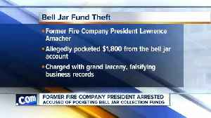 Former fire company president accused of stealing almost $2,000 [Video]