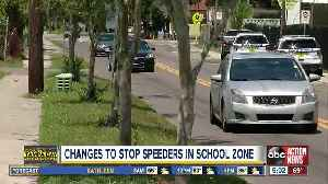 Tampa elementary school has wrong times on school zone signs [Video]