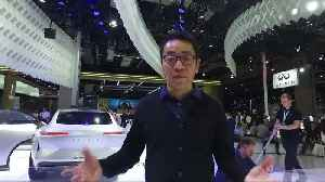 Designs of the future at the Shanghai Auto Show [Video]