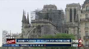 Disney pledges $5 million for Notre Dame reconstruction [Video]